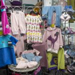 Local and hand-made clothes for children and other crafts at Kråkeslottet.